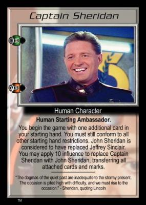 Captain Sheridan (extra card)