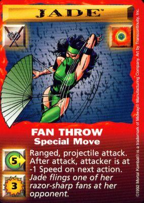 Jade Fan Throw