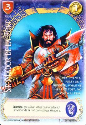 Sir Mador de La port