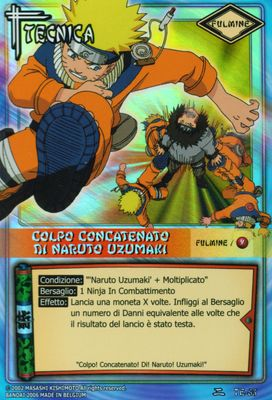 Colpo Concatenato Di Naruto Uzumaki